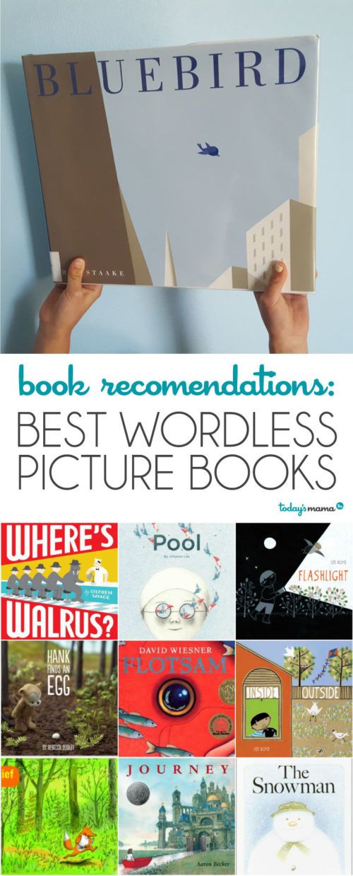 Book Recommendations: Best Wordless Picture Books via @todaysmama