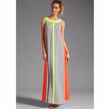 Resultado de imagen para vestidos largos casuales