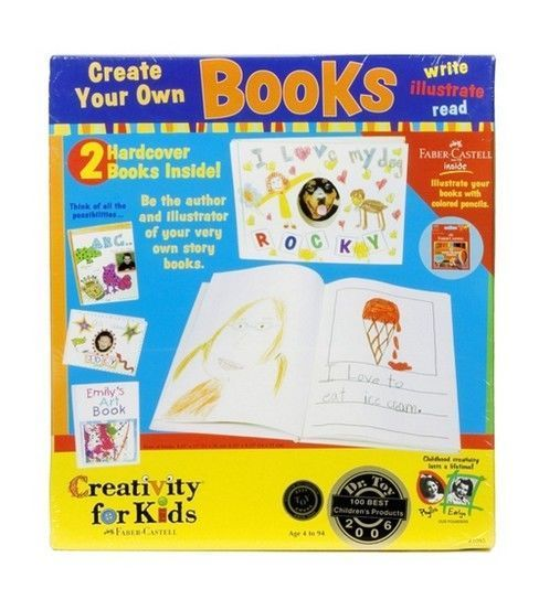Creativity for Kids Kit-Create Your Own Books