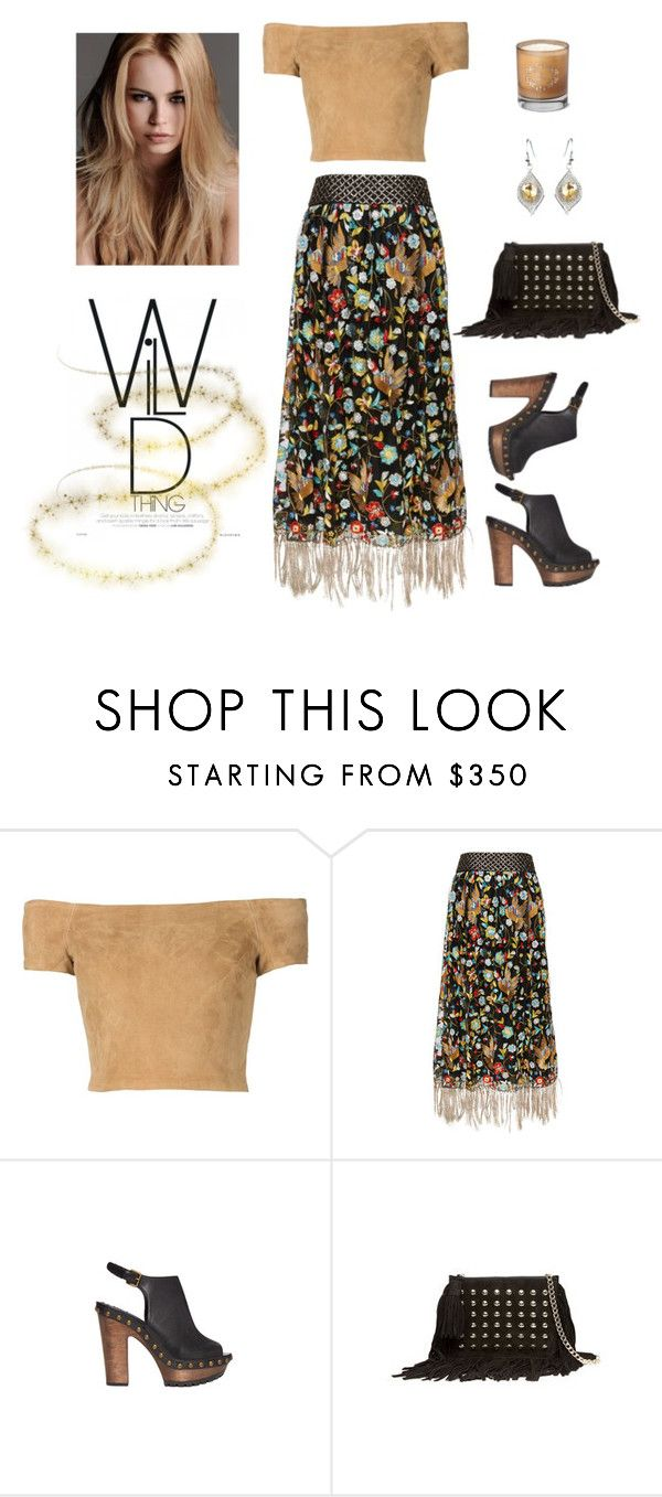 """""""Wild Thing"""" by dyanjoy ❤ liked on Polyvore featuring Alice + Olivia, Bella Bellissima, KAROLINA and Alice"""