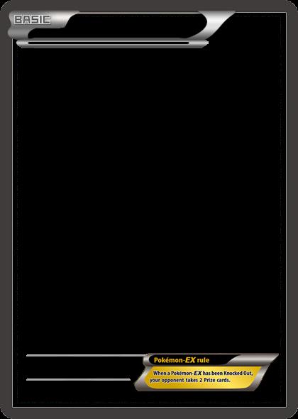bw pokemonex black card blank templatetheketchi on