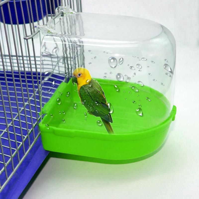 1pcs Parrot Bird Bathtub Peony Parrot Bathing Supplies Bird