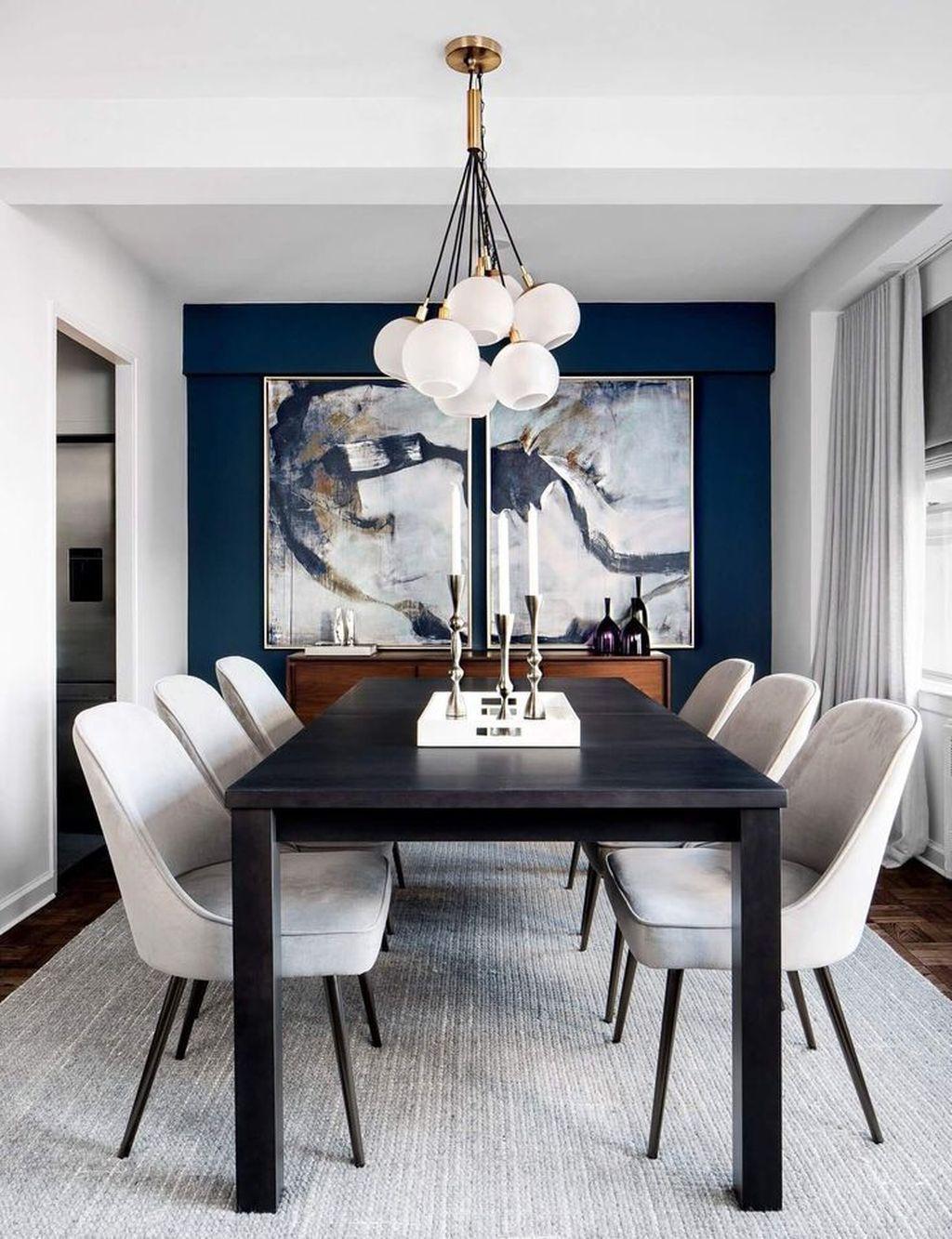 41 Best Modern Dining Room Decoration Ideas Small Dining Room