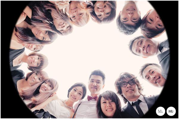 The More We Get Together: M Wedding Photo III by Hey!Cheese , via Behance
