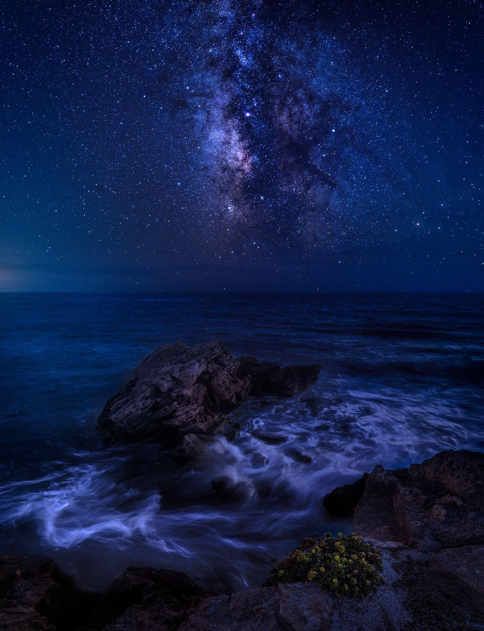 Magic Night Night Skies Sky Art Fantasy Landscape