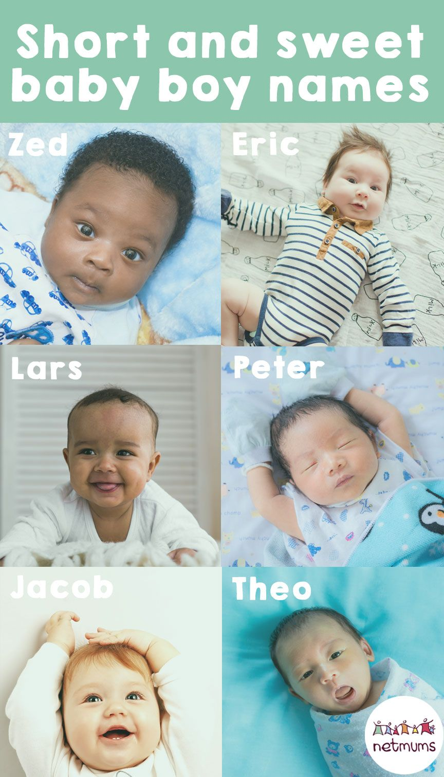 15 short and sweet baby boy names Sweet baby boy names