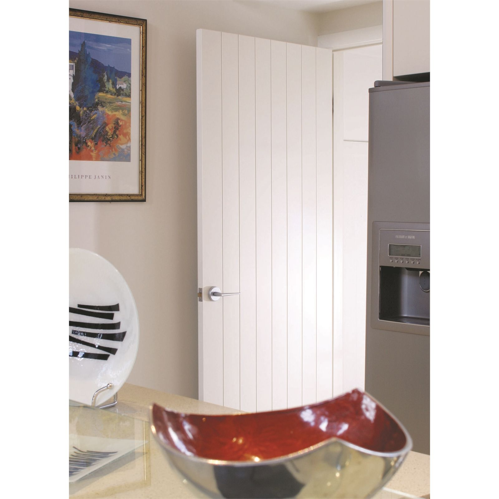 Hume Doors u0026 Timber 2040 x 620 x 35mm Accent Primed Internal Door  sc 1 st  Pinterest & Hume Doors u0026 Timber 2040 x 620 x 35mm Accent Primed Internal Door ...