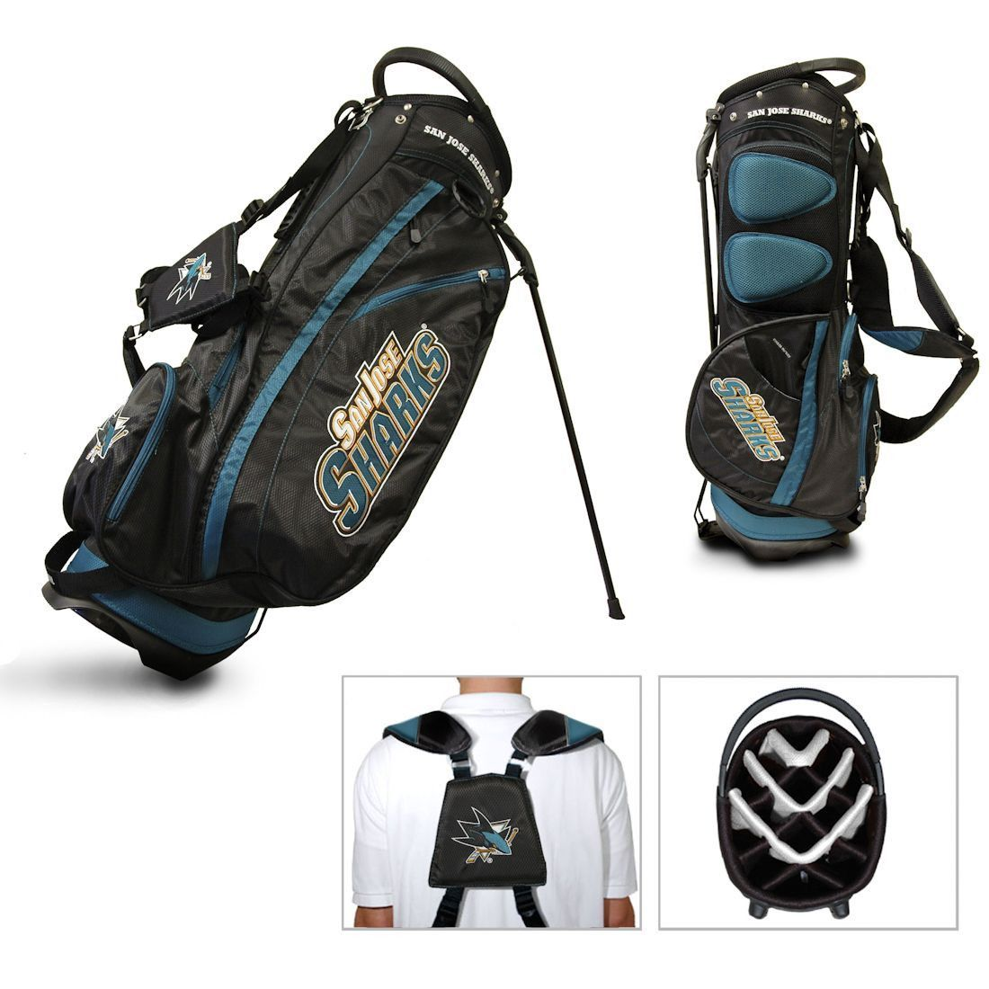 San Jose Sharks Golf Stand Bag (backorder)