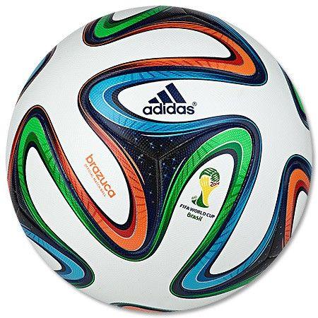 Balón Réplica Brazuca Mundial Brasil 2014 adidas