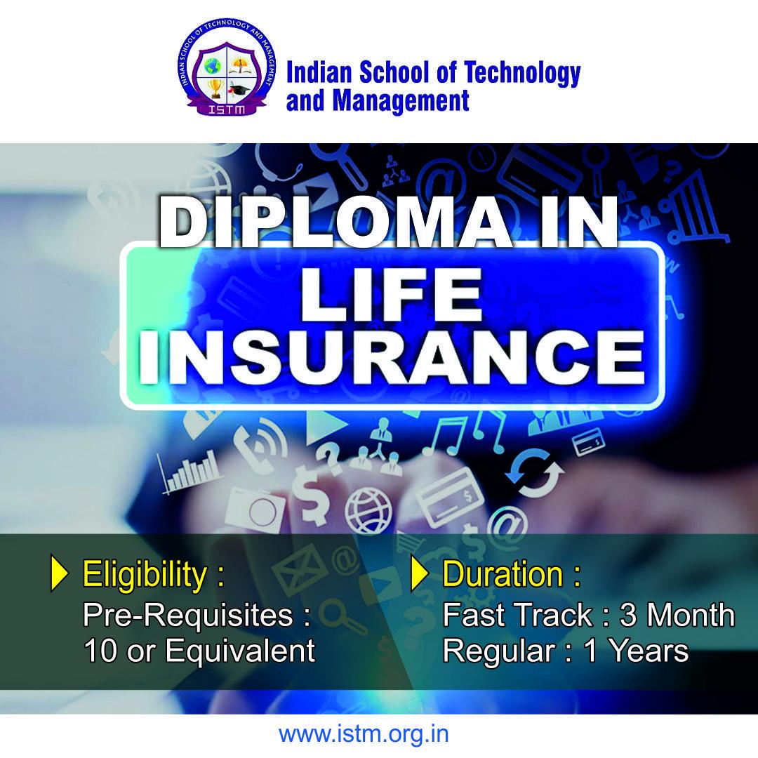 Course Diploma In Life Insurance Curriculum Design Curriculum