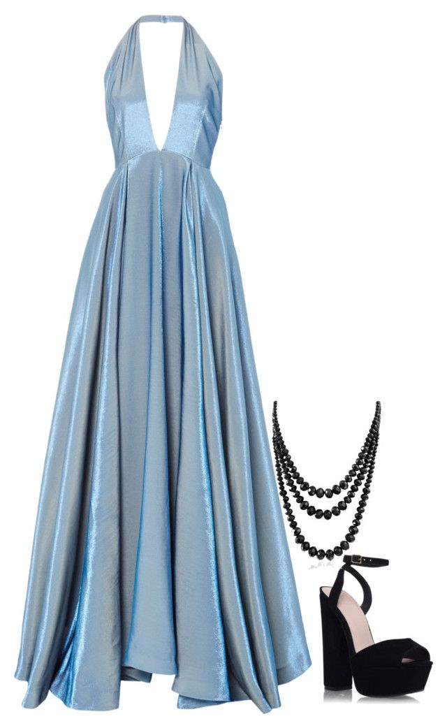 """""""the blues"""" by smarie87 on Polyvore featuring Rosie Assoulin, KG Kurt Geiger, Bling Jewelry, women's clothing, women's fashion, women, female, woman, misses and juniors"""