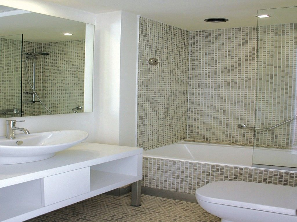 Bathroom Tile Ideas Mosaic like enclosed tub | new home | pinterest | bath panel, kick plate