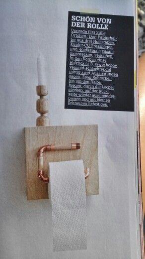Toiletten Roller
