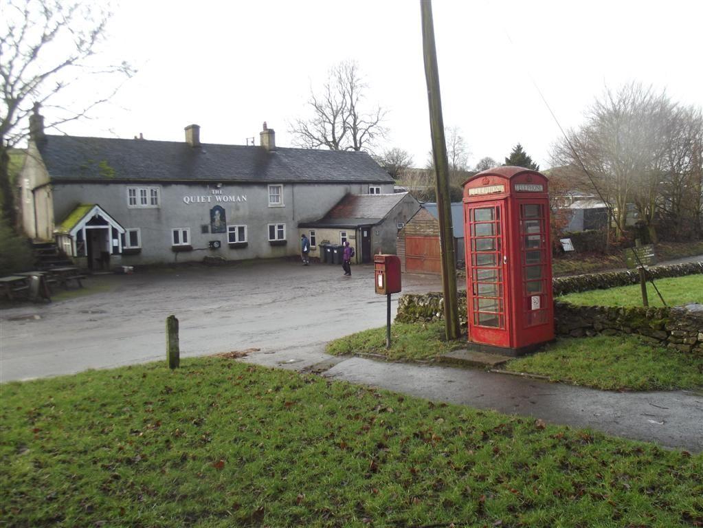 Earl Sterndale Telephone Box Derbyshire 1