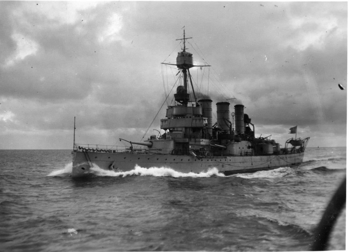 Pansarskepp (coastal Defence Ship) Hms Oscar Ii