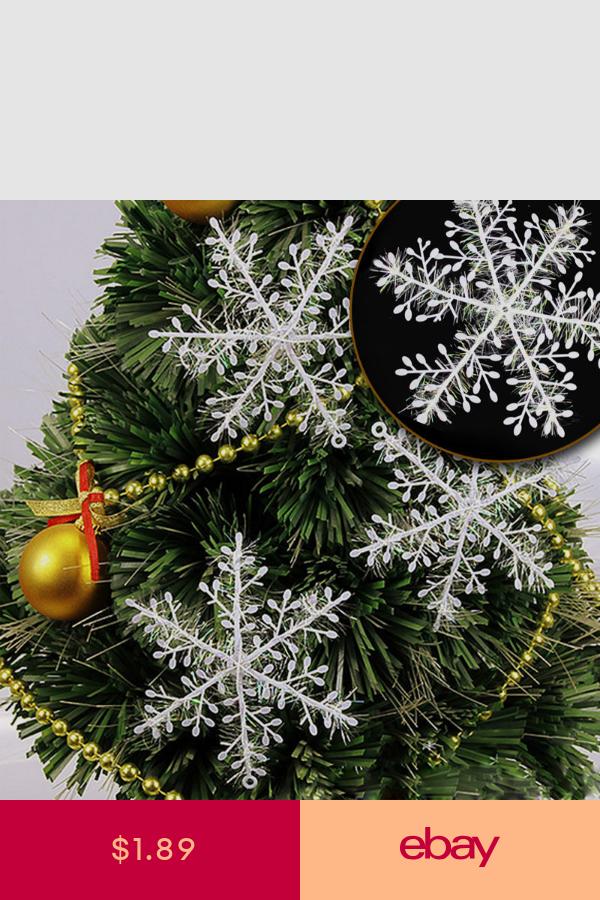 ChristmasTree Hanging Decorations Snowflake Xmas Festive Home Decor