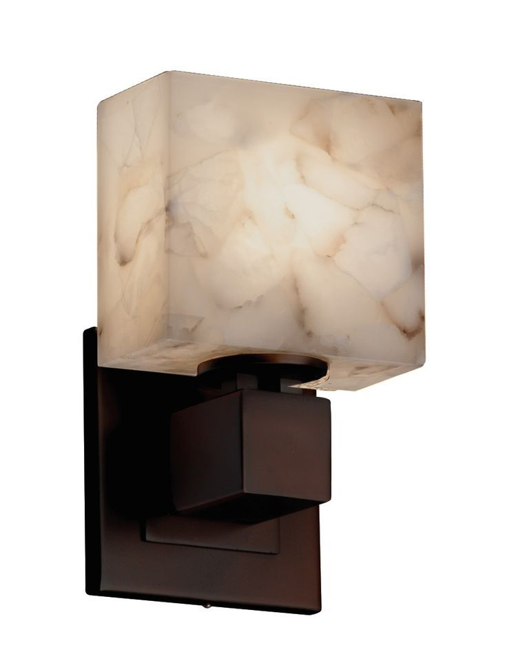Conovan Monica 1 Light Led Armed Sconce Bathroom Sconces Justice Design Sconces