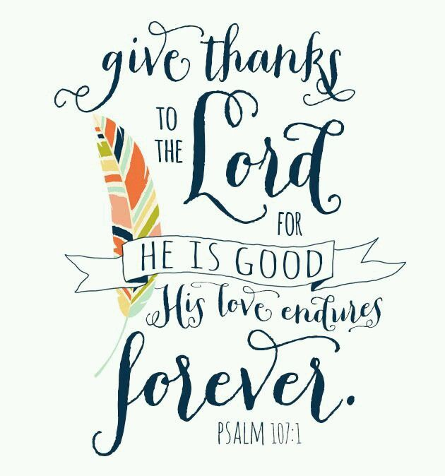 Image result for Psalm 107:1
