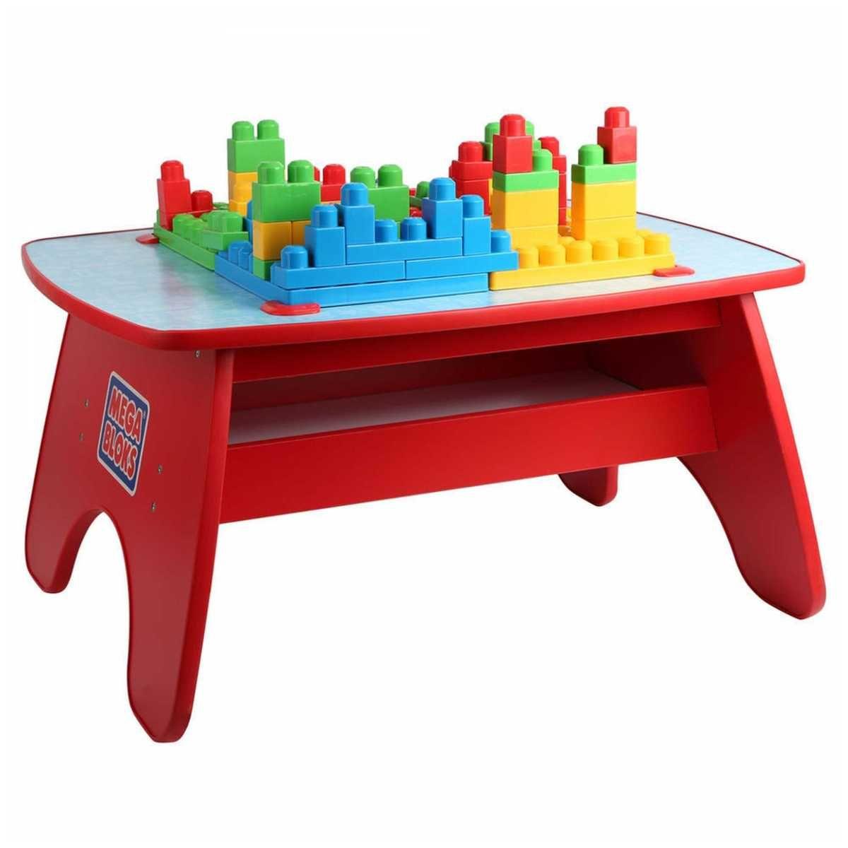 Mega Bloks Big Building Table Big W Big Building Toddler Life 1st Birthday
