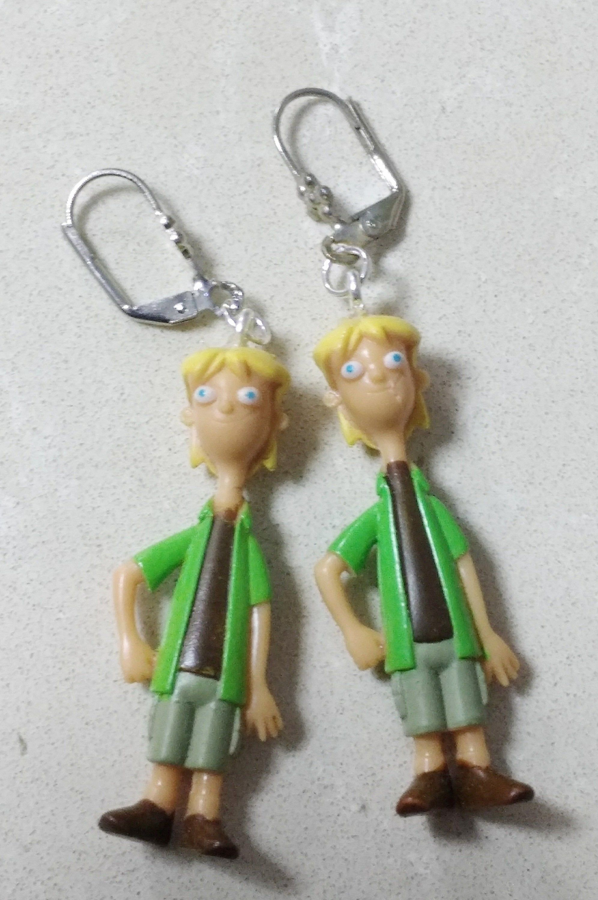 Phineas And Ferb 2020 Christmas Ornament SARITOOSH Silver earring Phineas and Ferb Characters Plastic