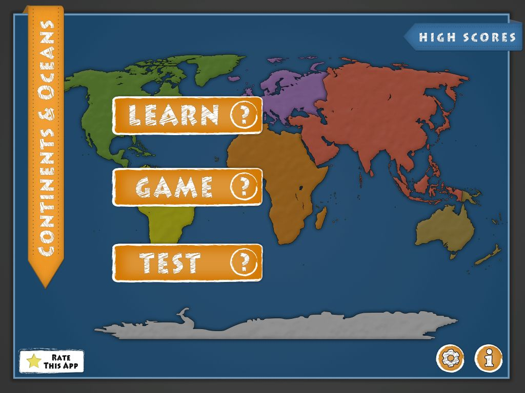 Learn Continents And Oceans