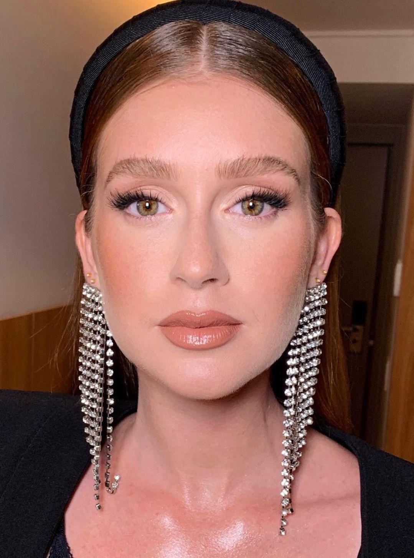 Marina Ruy Barbosa makeup look by Patrick Ta 🔥