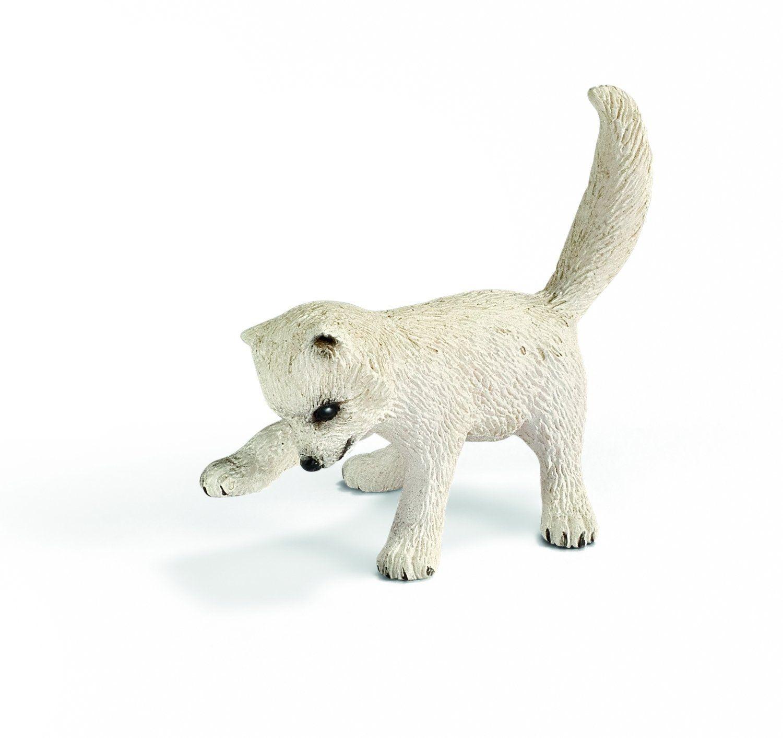 Schleich Arctic Fox Kit Toy Figure Toys