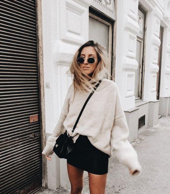 Photo of Tips para estilizar una mini falda en invierno y lograr un look sexy y cool