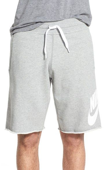 a2390c1ea859 NIKE  Aw77 Alumni  French Terry Knit Shorts.  nike  cloth