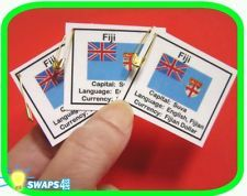 YOUR COUNTRY Fun Facts Scout SWAPS Girl Craft Kit - Swaps4Less