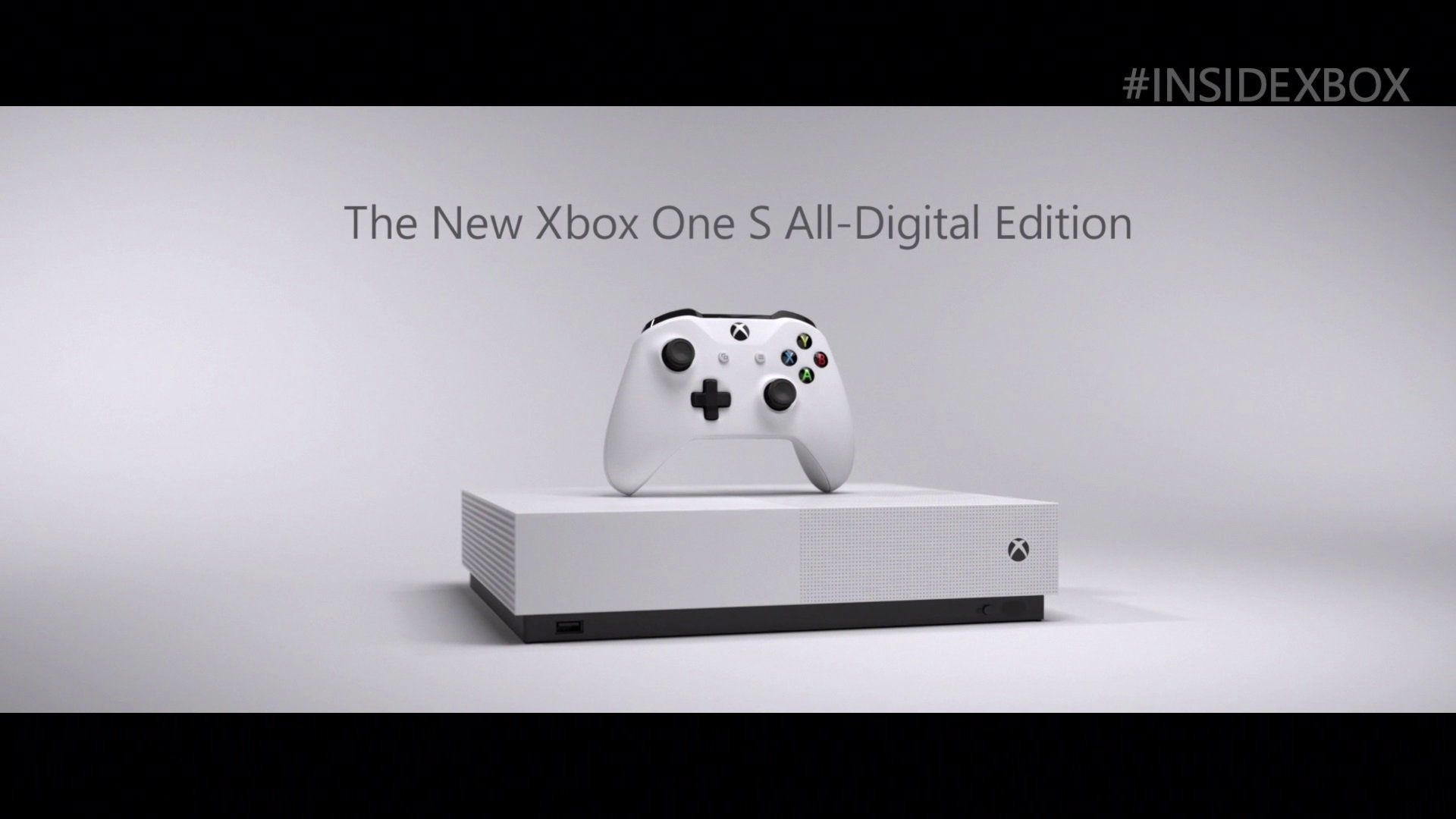 Xbox One S All Digital Announced At Inside Xbox Xbox One S Xbox One Xbox