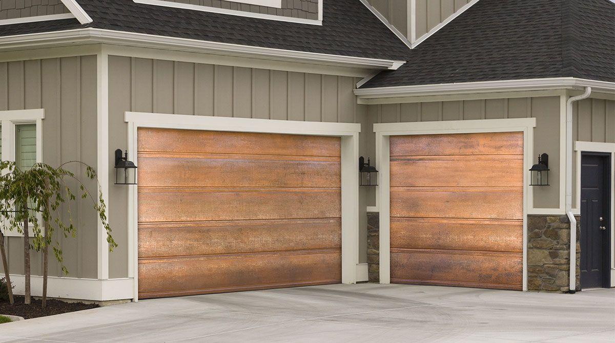 Copper Garage Doors Martin Garage Doors Garage Doors Custom Garage Doors