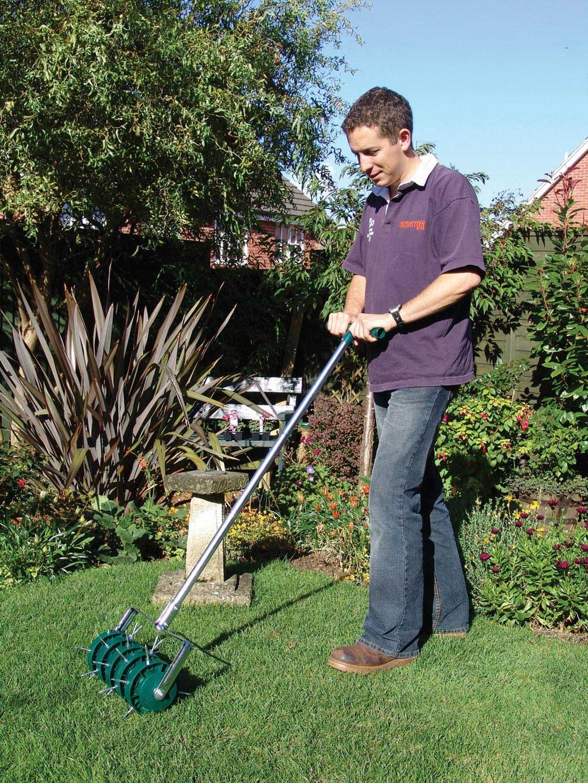 Greenkey rolling lawn aerator lawn lawn care tips lawn
