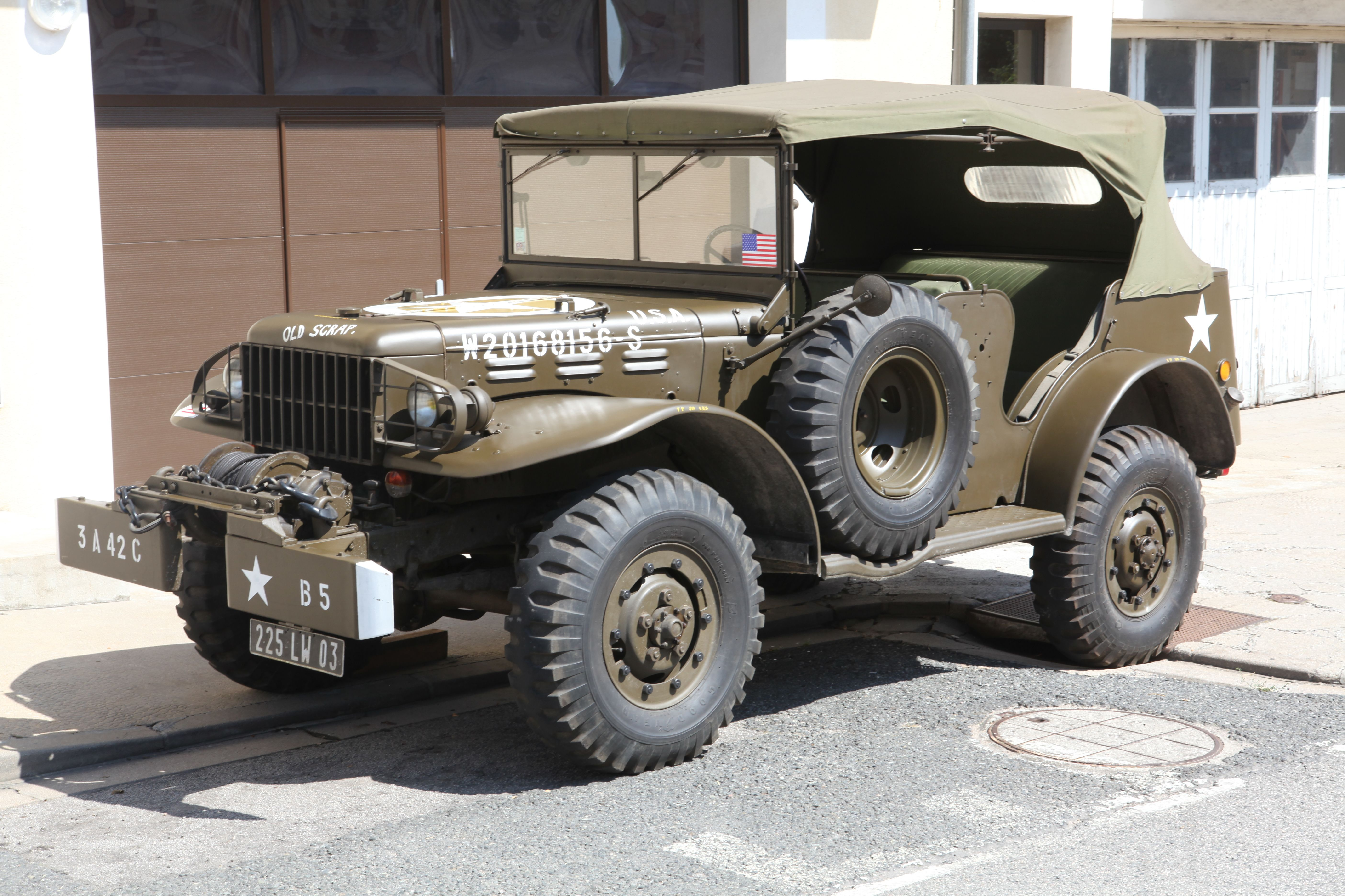 Dodge trucks in wwii - 1942 Dodge Command Car W56 3 4 Ton World War Ii Vehicle For Sale By Mecum Auction Anything Every Thing With Wheels Pinterest Dodge Cars And Dodge