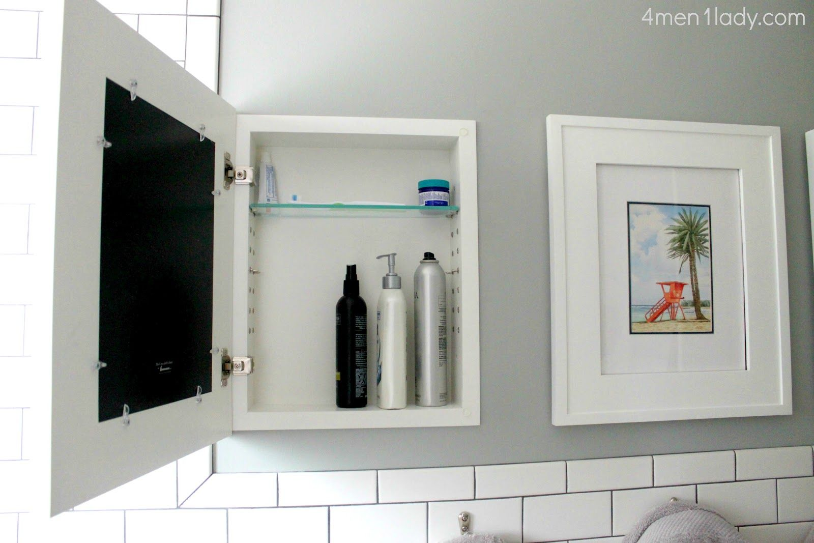 art that is actually medicine cabinets   diy   Pinterest   Storage ...