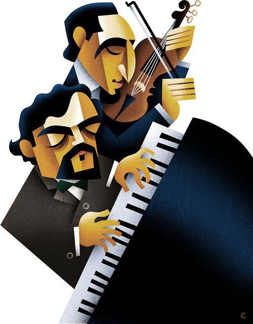 David Cowles Illustrations Music Art Illustrations Music Painting Musical Art