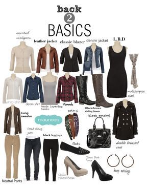 Basics every girl needs in her closet. #maurices