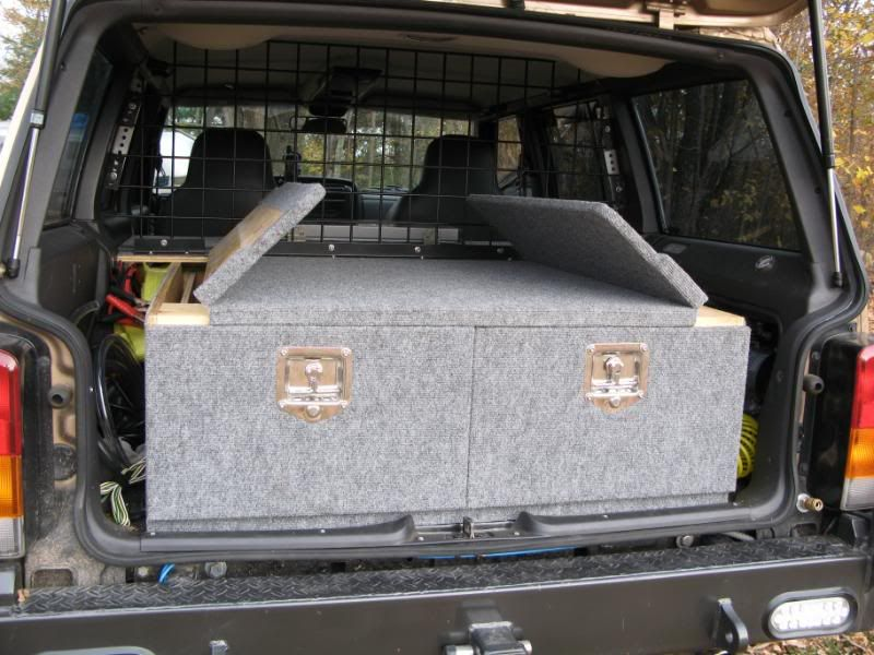 jeep cherokee sleeping platform - Google Search | jeep dreaming ...