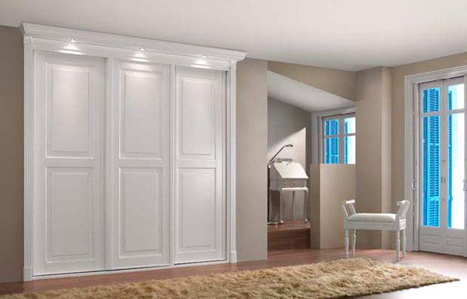 Pin de lorena g en ideas para el hogar pinterest for Puertas armarios empotrados