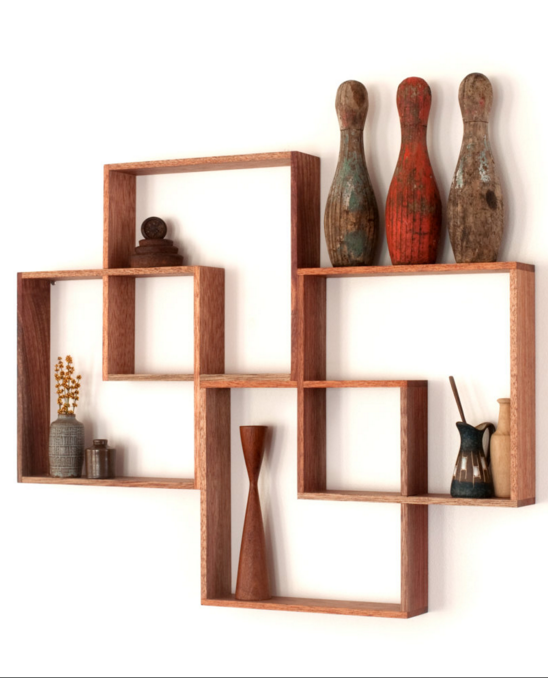 4 Shadow Box Display Cabinet To Display Your Treasures. Wall Hanging Shelfu2026
