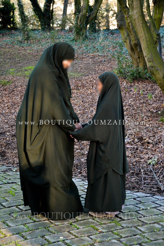Jilbab 2 pièces à poches