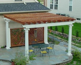 Photo of Custom Sized Sun Shade Privacy Panel Mesh Fabric with Grommets for Patio, Awning, Window Cover, Canopy, Pergola or Gazebo