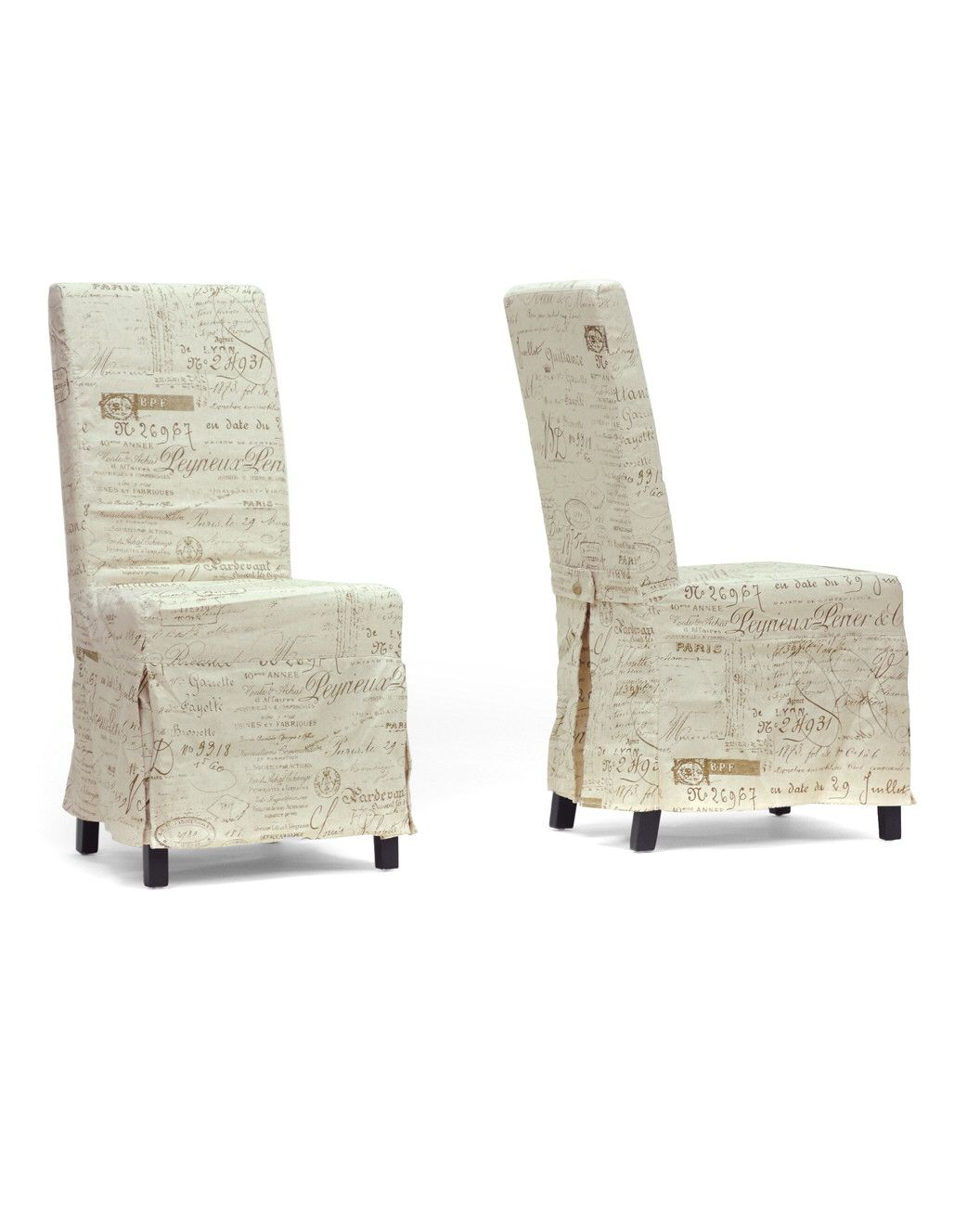 Spotted this Set of 2 Picard French Script Dining Chairs on Rue La La. Shop (quickly!).