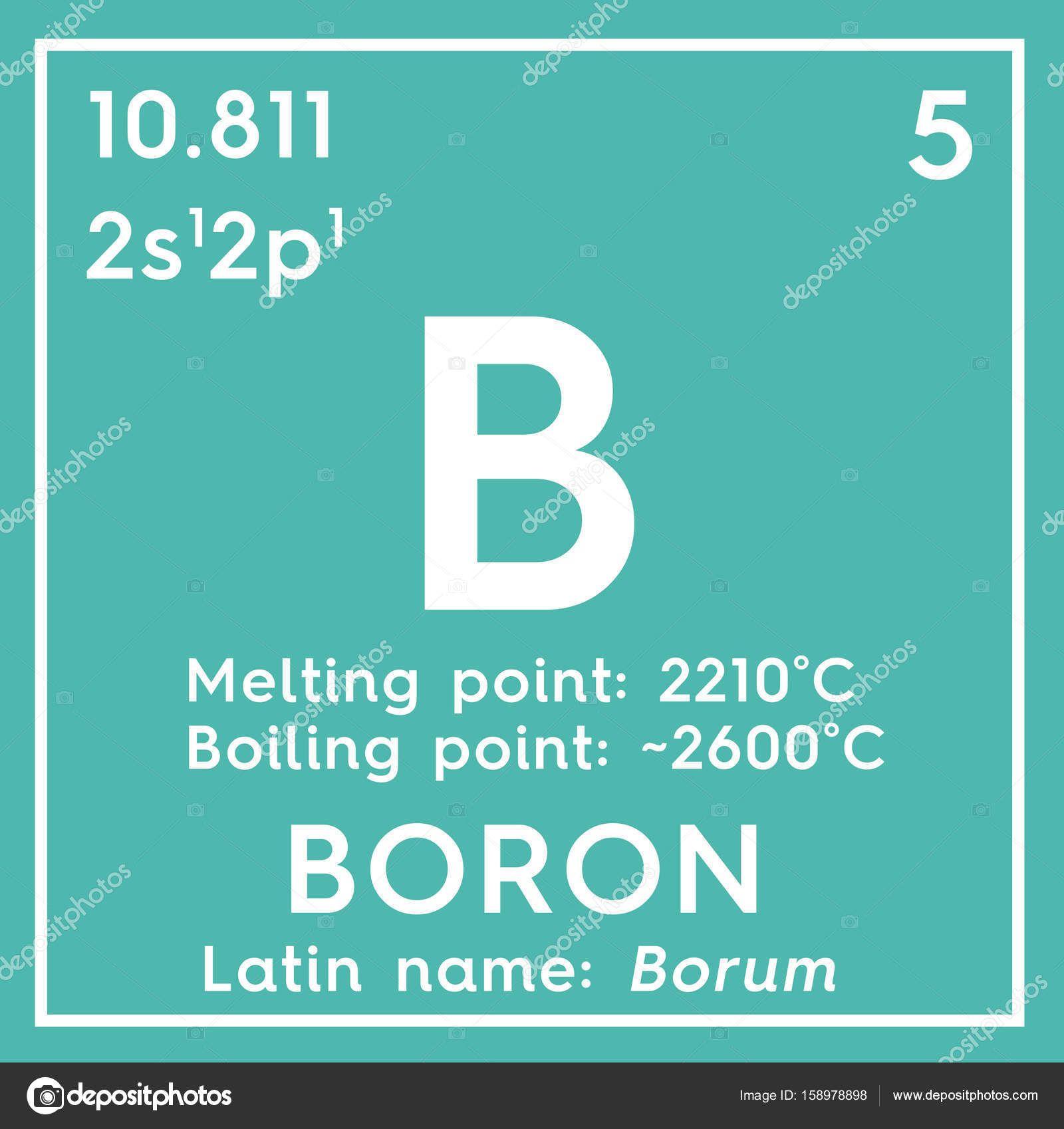Boro Elemento Quimico