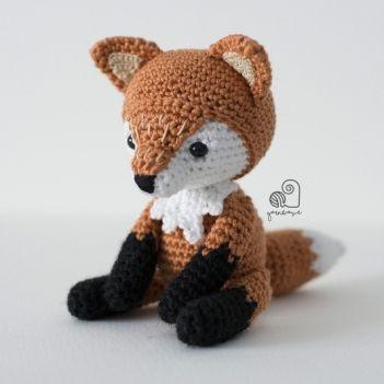 Zorro El Principito Tejido Crochet Amigurumi Animales - $ 350,00 ... | 351x351