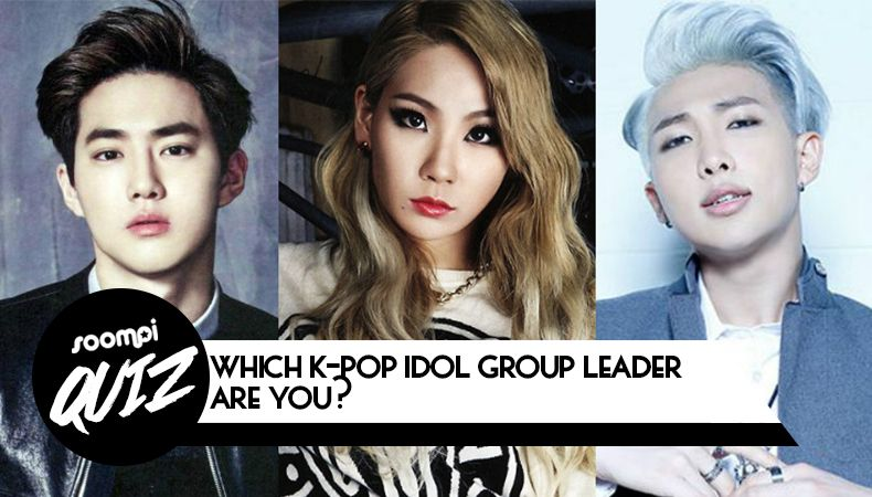 Quiz Which K Pop Idol Group Leader Are You Pop Idol Kpop Quiz Kpop Idol