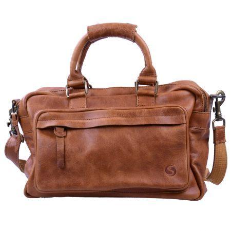199f0b6d6d3 Sacha Stoere leren tas - cognac | ☆ Handbags ☆ - Petit sac en cuir ...