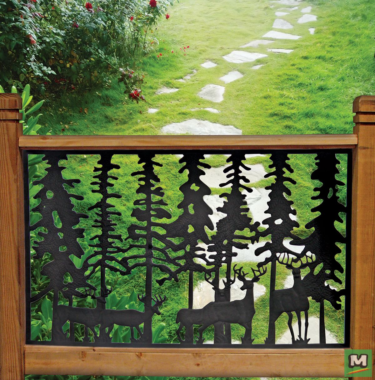 Best Add A Unique Design To Your Deck With The Pure Glory Deer 640 x 480