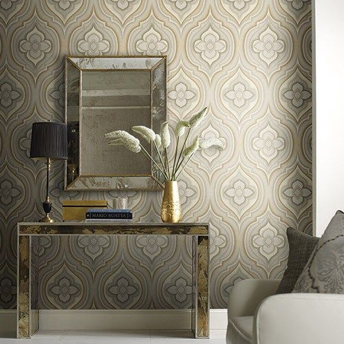 Candice Olson Living Room Decorating Ideas: Rhapsody Wallpaper