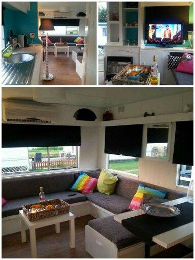 Pin van Femke Haagsma op My place @ the beach   Pinterest - Caravan ...